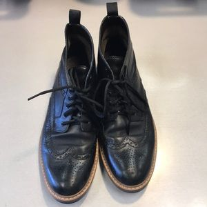 Clark's wing tip boots